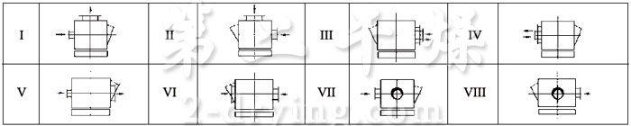 BLM系列脉冲布筒滤尘器安装形式